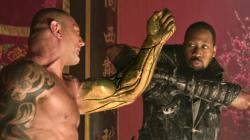 Dave Bautista and RZA in The Man with the Iron Fists