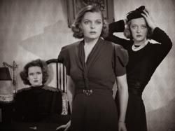 Lola Lane, Mayo Methot, and Bette Davis in Marked Woman.