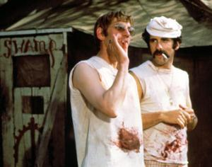 Donald Sutherland and Elliot Gould in Robert Altman's M*A*S*H