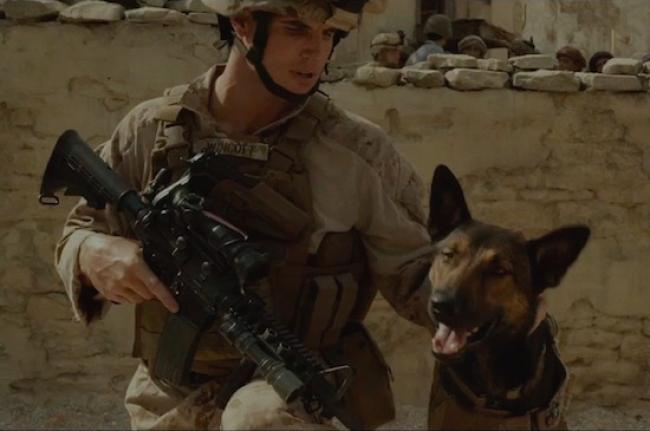 Robbie Amell and Carlos in Max