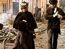 Julie Christie and Warren Beatty in McCabe and Mrs. Miller