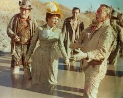 Edgar Buchanan, Maureen OHara and John Wayne in McLintock!