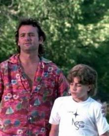 Bill Murray and Chris Makepeace in Meatballs