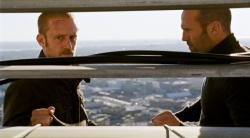 Jason Statham and Ben Foster in The Mechanic.