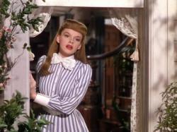 Judy Garland in Meet Me in St. Louis.