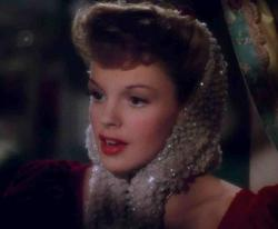 Judy Garland, musically wishing you a Merry Little Christmas, in Meet Me in St. Louis.