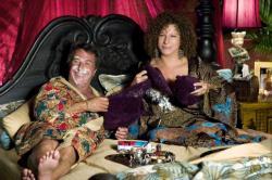 Dustin Hoffman and Barbra Streisand in Meet the Fockers.