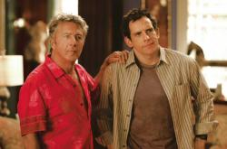 Dustin Hoffman and Ben Stiller in Meet the Fockers.