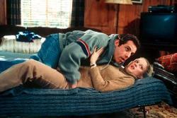 Ben Stiller and Teri Polo in Meet the Parents.