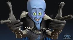 Will Ferrell is Megamind in Dreamworks' Megamind.