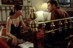 Amanda Peet and Will Ferrell in Melinda and Melinda.