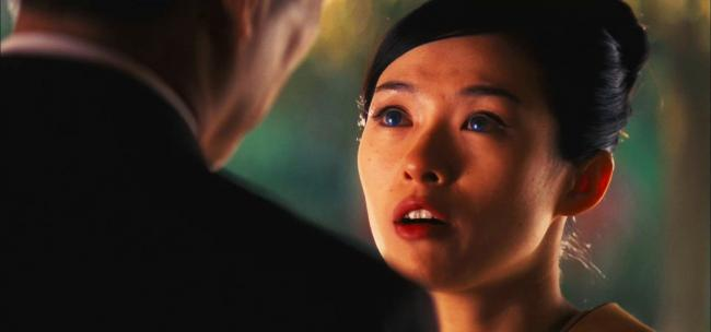 The eyes have it. Ziyi Zhang in Memoirs of a Geisha