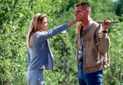Renee Zellweger and Jim Carrey in Me, Myself, & Irene.