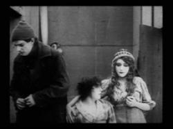 Charles West, Mabel Normand and Mary Pickford in The Mender of Nets.