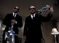 Will Smith and Tommy Lee Jones in Men in Black 2.