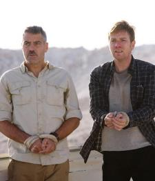 George Clooney and Ewan McGregor in The Men Who Stare at Goats.