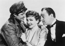 Ameche, Colbert and Barrymore.