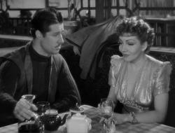 Don Ameche and Claudette Colbert in Midnight.