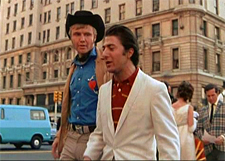 Jon Voight and Dustin Hoffman in Midnight Cowboy.
