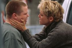 Eldon Henson and Sharon Stone in The Mighty