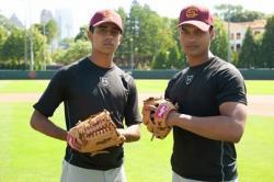 Suraj Sharma and Madhur Mittal in Million Dollar Arm