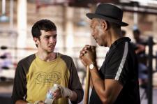Morgan Freeman in Million Dollar Baby.