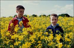 Lewis Owen McGibbon and Alexander Nathan Etel in Millions.