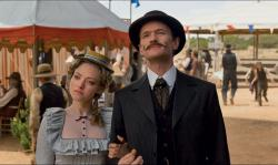 Amanda Seyfried and Neil Patrick Harris in A Million Ways to Die in the West.