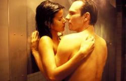 Patricia Velasquez and Christian Slater in MindHunters.