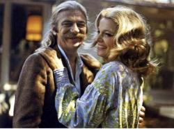 Seymour Cassel and Gena Rowlands in Minnie and Moskowitz.