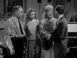 William Demarest , Diana Lynn, Betty Hutton and Eddie Bracken in The Miracle of Morgan's Creek.
