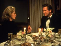 Lauren Bacall and Jeff Bridges in The Mirror Has Two Faces.
