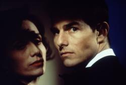Kristin Scott Thomas and Tom Cruise in Mission Impossible