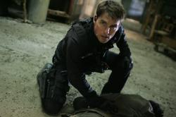 Tom Cruise in Mission: Impossible III.