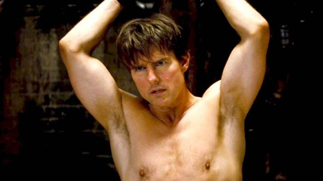 Tom Cruise in Mission: Impossible – Rogue Nation.
