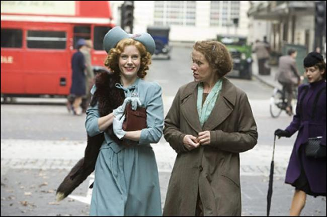 Amy Adams and Frances McDormand in Miss Pettigrew Lives for a Day.