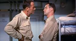 Henry Fonda and Jack Lemmon in Mister Roberts.