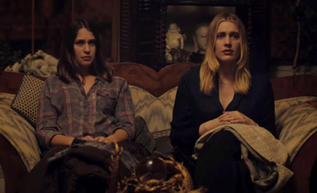 Lola Kirke and Greta Gerwig in Mistress America.