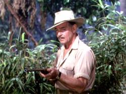 Clark Gable in Mogambo.