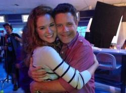Sarah Drew and Sean Astin in Mom's Night Out