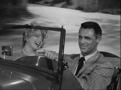 Marilyn Monroe and Cary Grant in Monkey Business.