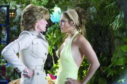 Jane Fonda and Jennifer Lopez in Monster In-Law.