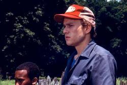 Heath Ledger in Monster's Ball.