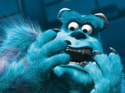 John Goodman voice Sulley in Monsters, Inc..