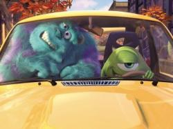 John Goodman voices Sulley while Billy Crystal voices Mike in Monsters, Inc.