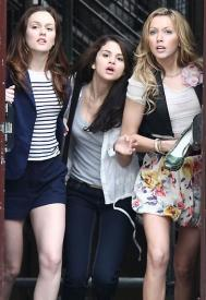 Leighton Meester, Selena Gomez and Katie Cassidy in Monte Carlo.