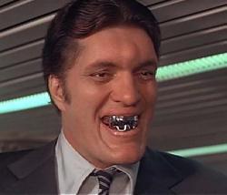 Richard Kiel as Jaws in Moonraker.