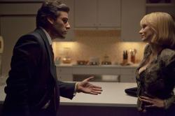 Oscar Isaac and Jessica Chastain in A Most Violent Year.