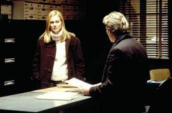 Laura Linney and Richard Gere in The Mothman Prophecies.