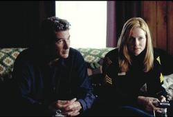 Richard Gere and Laura Linney in The Mothman Prophecies.
